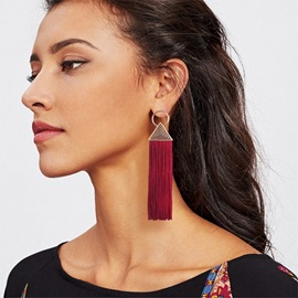Ericdress Bohemia Style Alloy Tassels Earrings