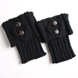 Ericdress Knit Boots Cuffs Fastener Socks