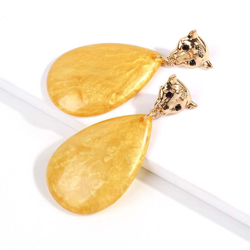 Ericdress Amber Geometric Engagement Earrings