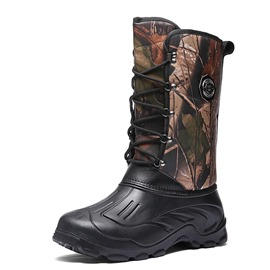 Ericdress Camouflage Round Toe Waterproof Men's Winter Boots