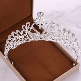 Ericdress Wedding Swan Tiara Crown