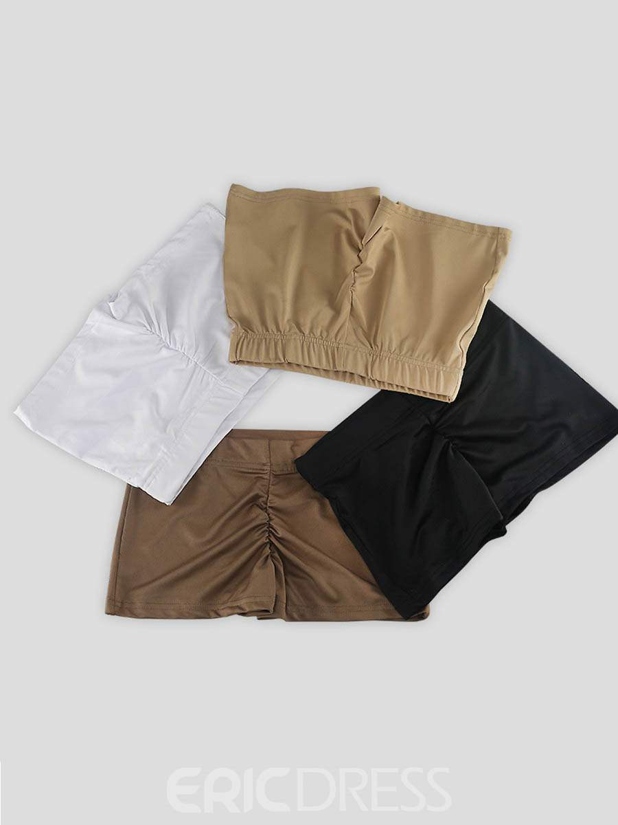 Ericdress Solid Anti-Sweat Shorts