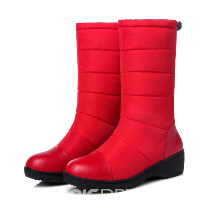 Ericdress Elastic Round Toe Waterproof Women's Snow Boots