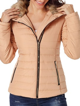 Ericdress Long Sleeve Zipper Slim Standard Winter Jacket