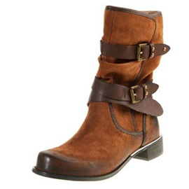 Ericdress Patchwork Block Heel Women's Boots