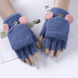 Ericdress Knit Winter Gloves