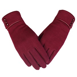 Ericdress Plain Simple Winter Gloves