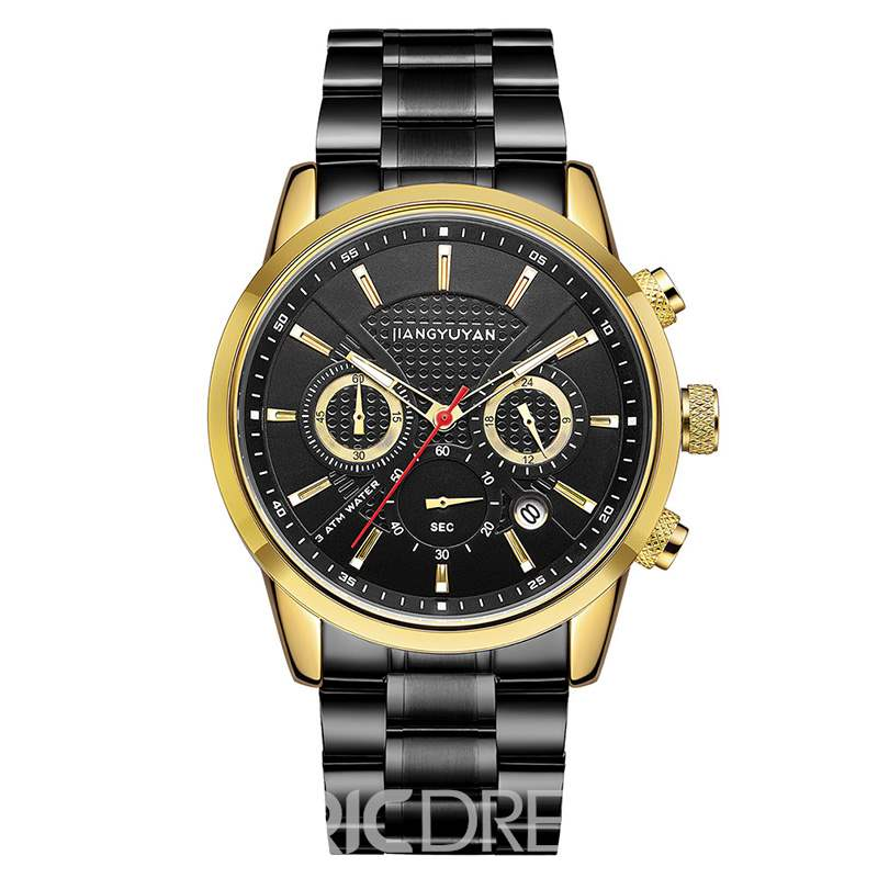 Ericdress Golden Quartz Hardlex Watches