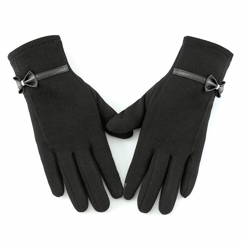 Ericdress Simple Bowknot Winter Gloves