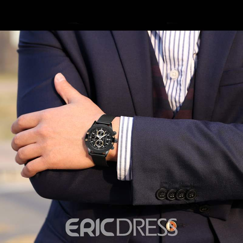 Ericdress Business Waterproof Men Watches