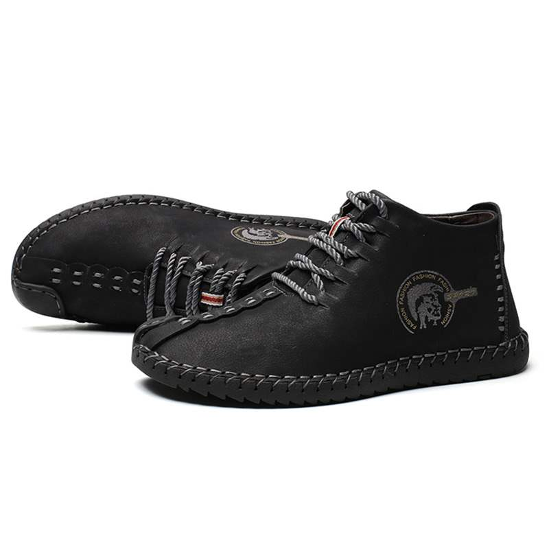 Ericdress Mid-Cut Upper Lace-Up Men's Casual Shoes