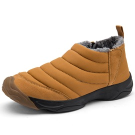 Ericdress Round Toe Plain Men's Snow Boots