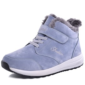 Ericdress Lace-Up Front Plain Men's Winter Boots