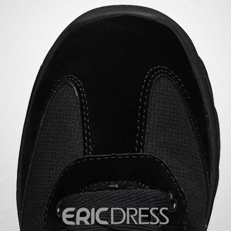 Ericdress High-Cut Upper Lace-Up Men's Winter Sneakers