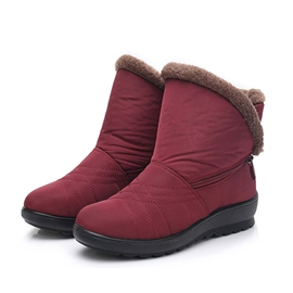 Ericdress Round Toe Side Zipper Women's Snow Boots