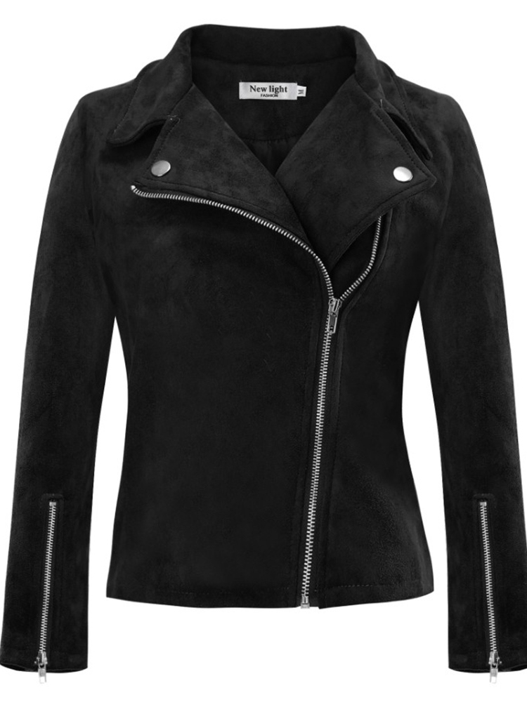 Ericdress Zipper Slim Long Sleeve Standard Winter Jacket