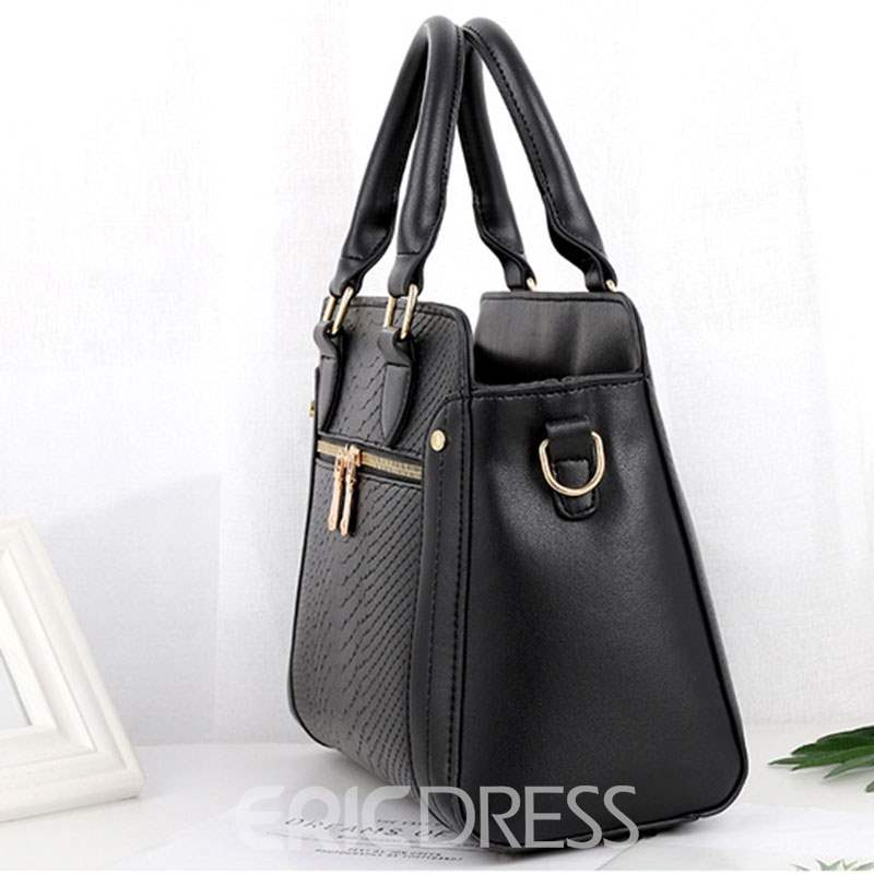 Ericdress Embossing PU Alligator Square Tote Bags