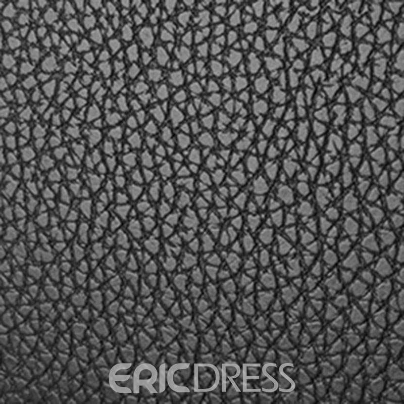 Ericdress Plain Thread PU Square Tote Bags
