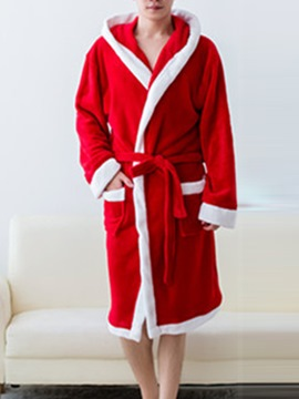 Ericdress Christmas Color Block Men's Night-Robes