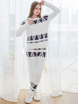 Ericdress Christmas Tree Print Simple Sleepwear for Women