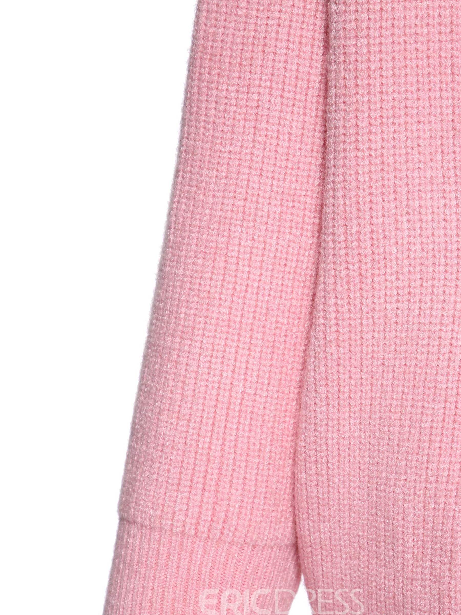 Ericdress Batwing Sleeve Long Sleeve Straight Sweater