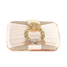 Ericdress Rhinestone Versatile Satin Clutches & Evening Bags