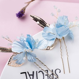 Ericdress Hair Stick Floral Wedding Bride Hair Accessories