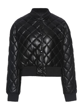 Ericdress Single-Breasted Loose Thick Standard Cotton Padded Jacket