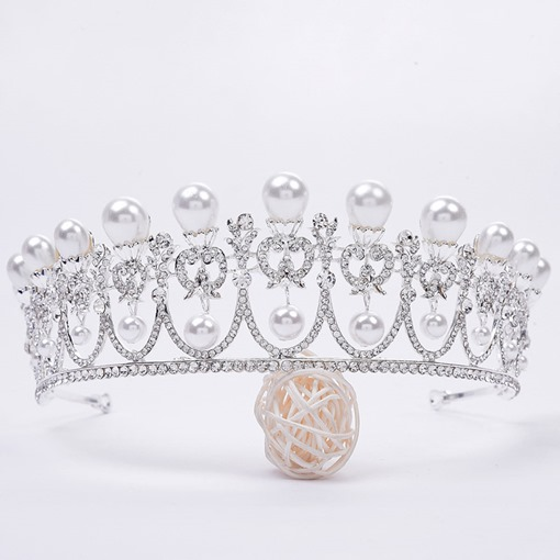 Ericdress Pearl Wedding Bride Tiara