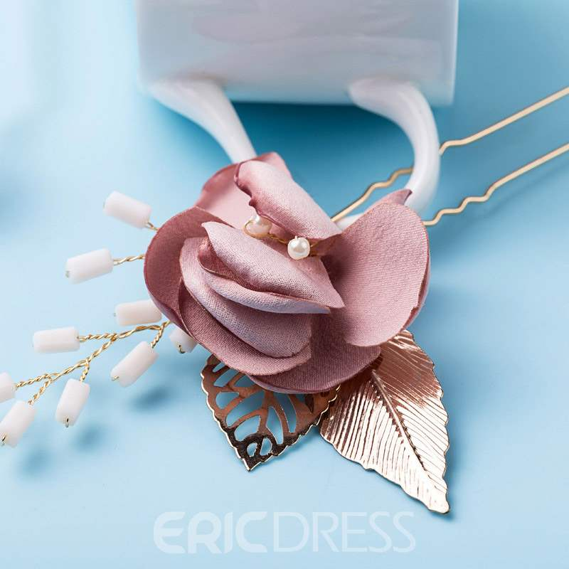 Ericdress Hair Stick Floral Hair Accessories Hair Pin