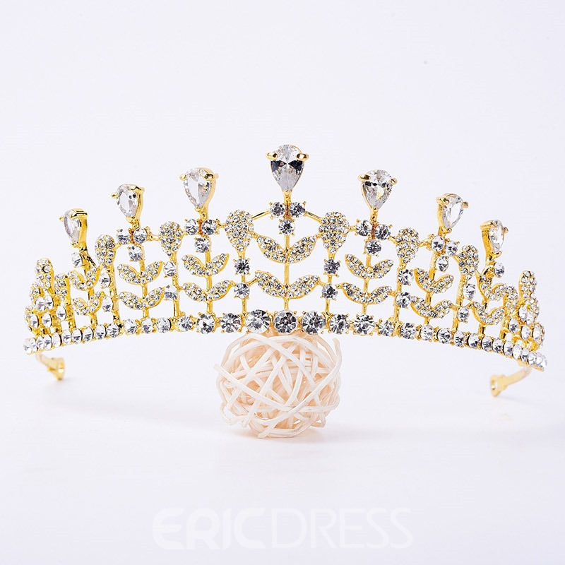 Ericdress Wedding Bride Diamante Tiara