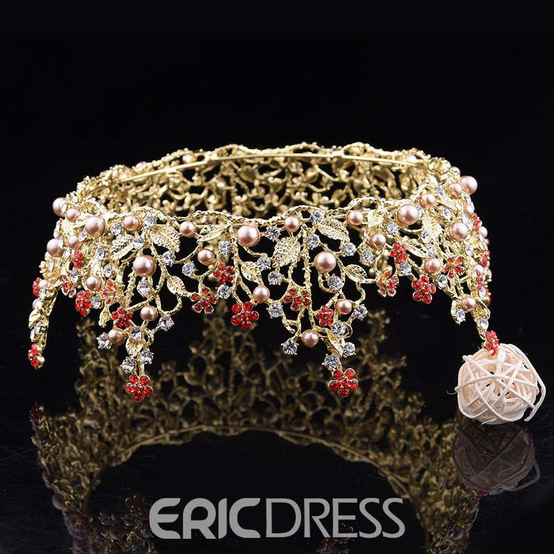 Ericdress Wedding Pearl Tiara Hair Accessories
