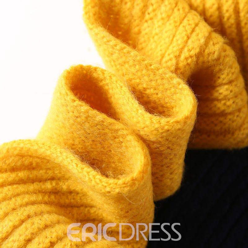 Ericdress Patchwork Imitation Cashmere Color Block Scarf