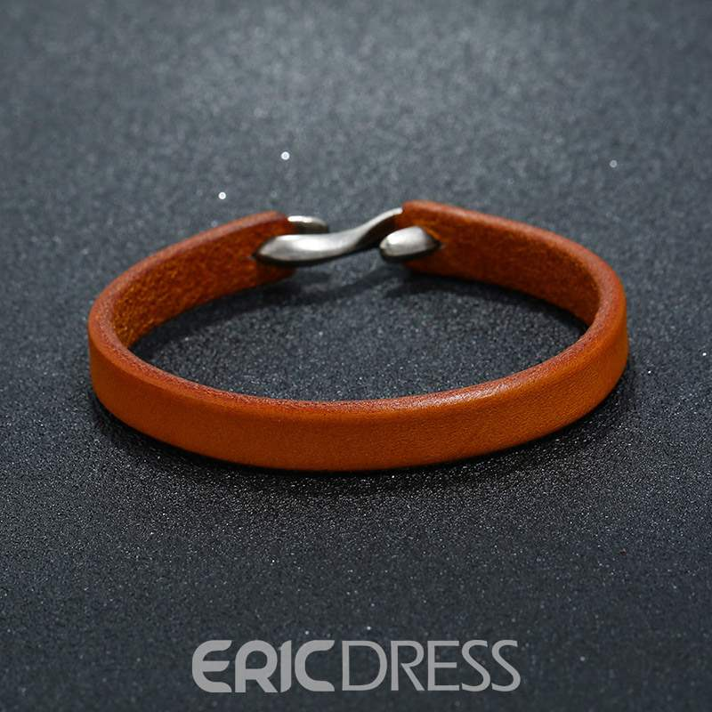 Ericdress Retro Top Lather Bracelet