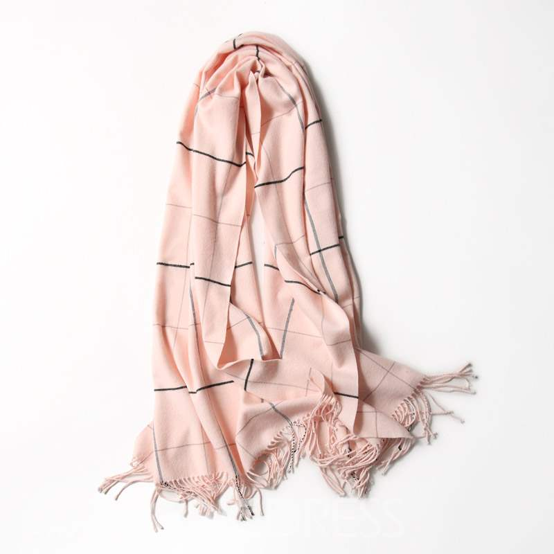 Ericdress New Style Tie-Dye Plaid Scarf