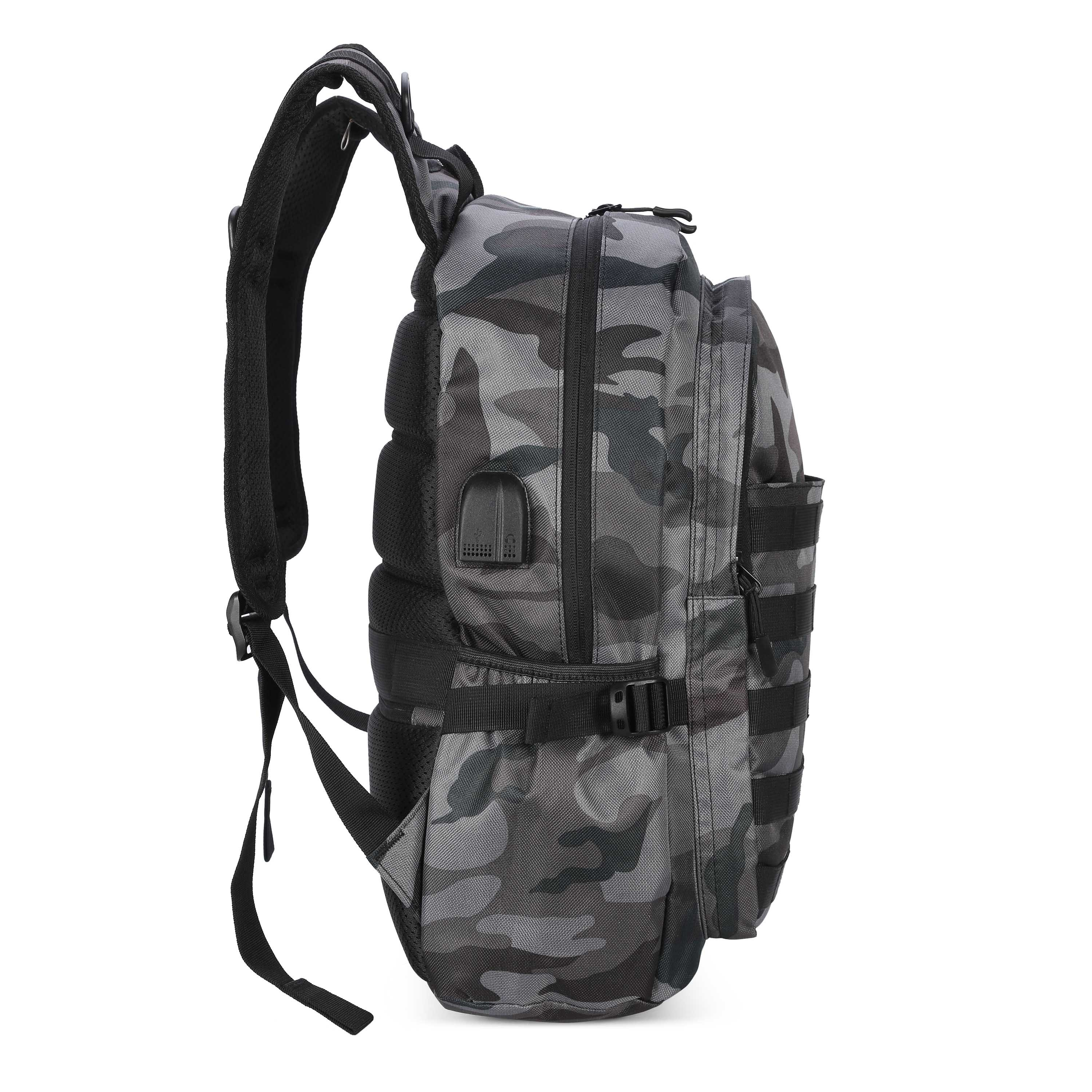 Ericdress Camouflage Backpack Army Bag