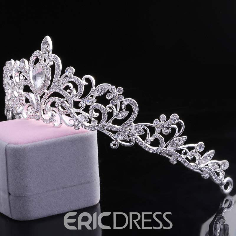 Ericdress Diamante Queen Wedding Tiara
