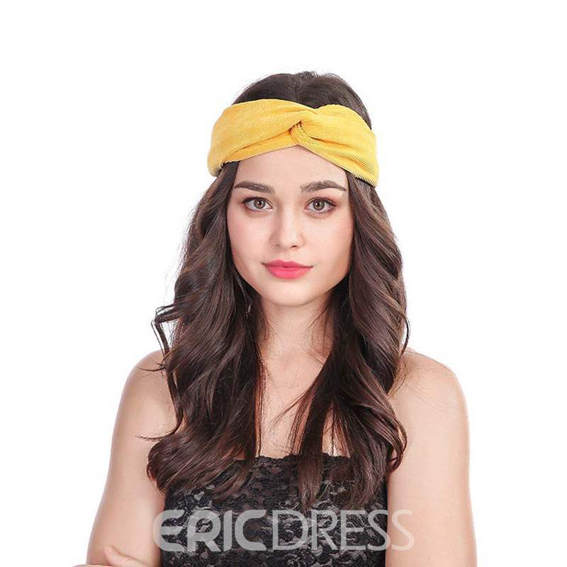 Ericdress Pure Colour Headband Hair Accessories