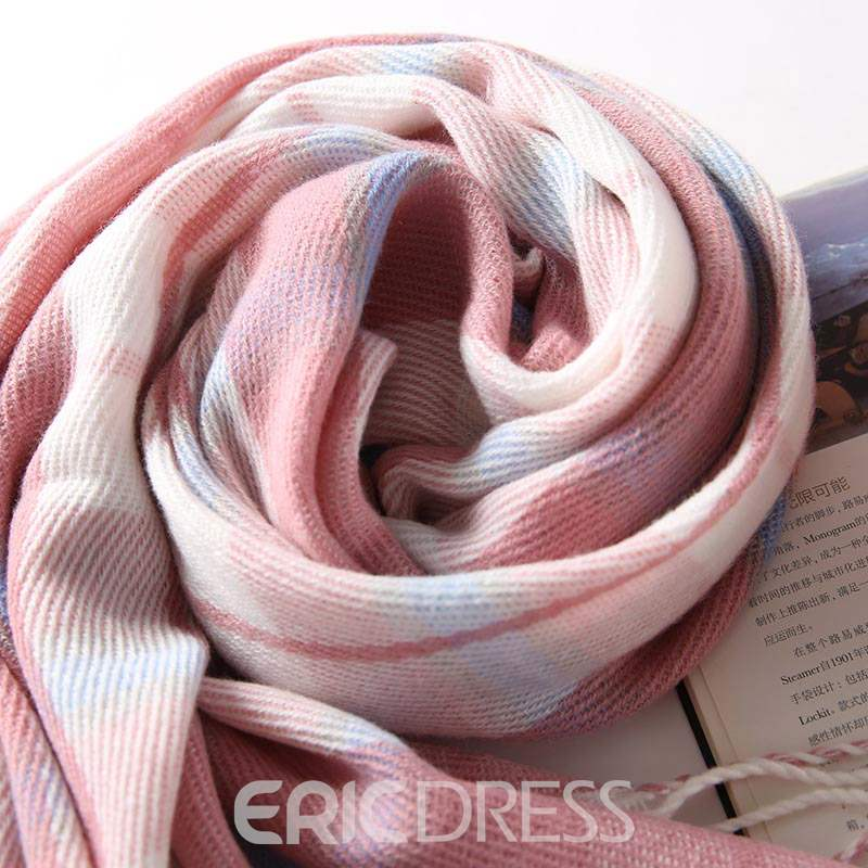 Ericdress Imitation Cashmere Scarf Plaid Grid Scarf