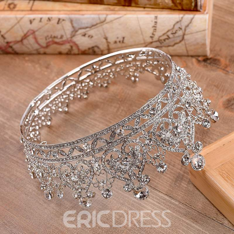 Ericdress Diamante Luxury Bride Tiara