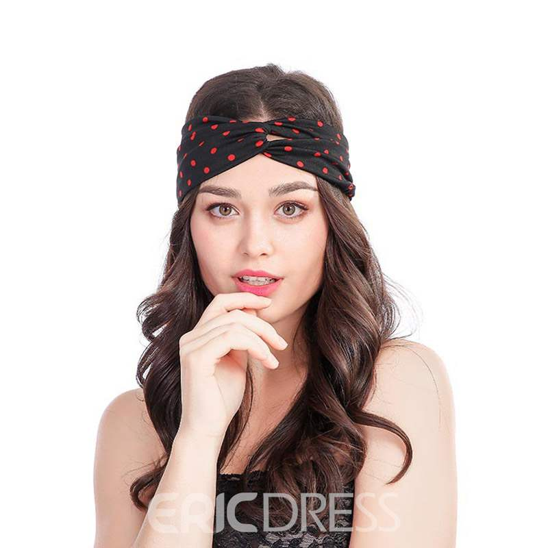 Ericdress Polka Dots Hair Accessories Hairband