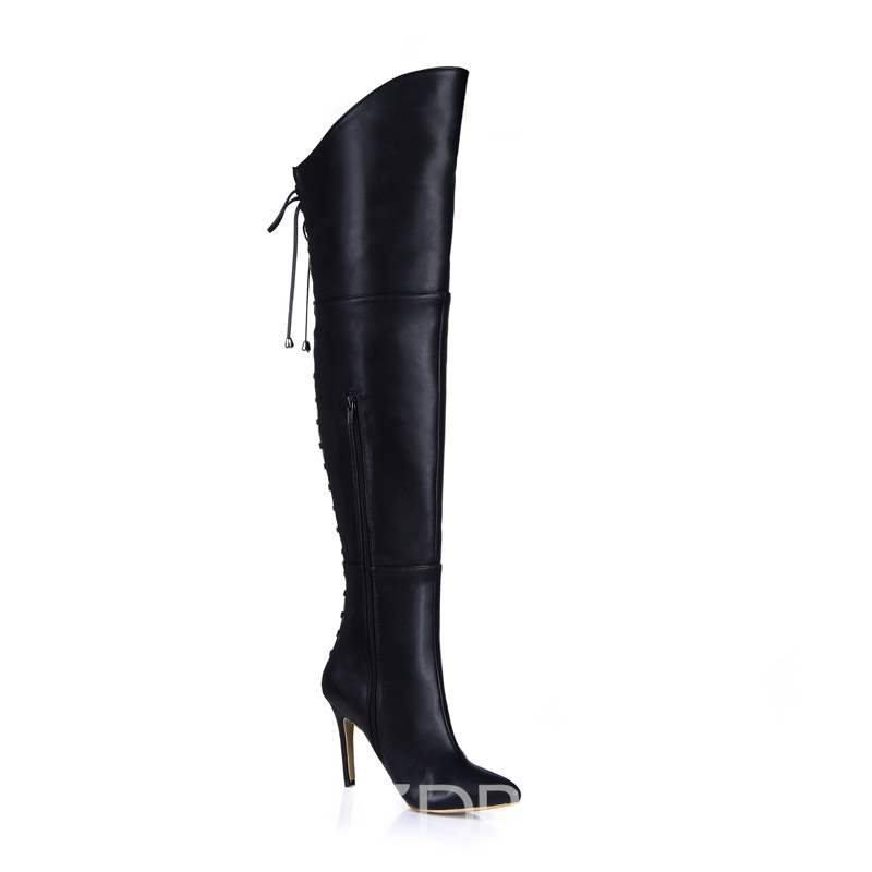 Ericdress Stiletto Heel Pointed Toe Women's Boots