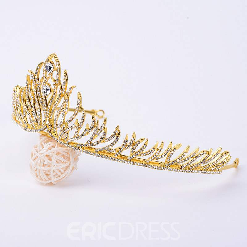 Ericdress Diamante Wedding Crown Tiara