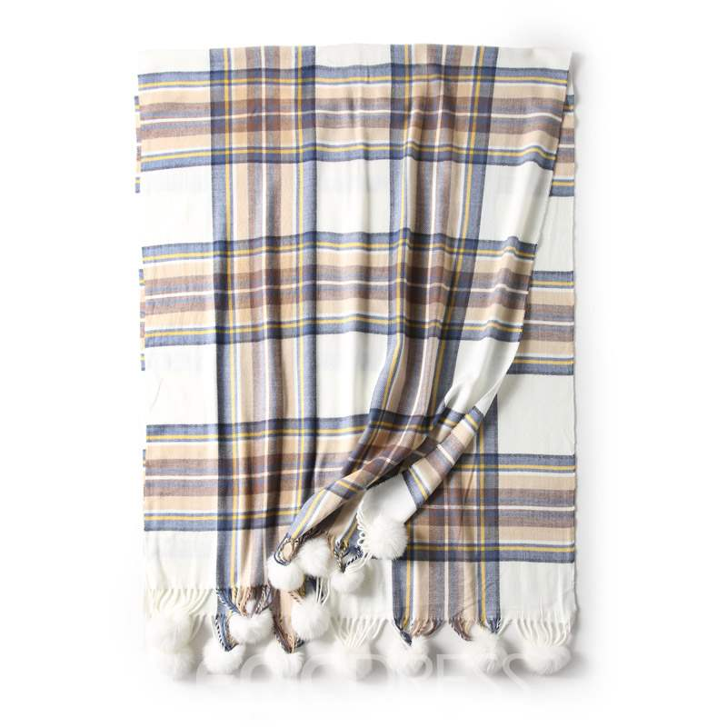 Ericdress New Style Imitation Cashmere Plaid Scarf