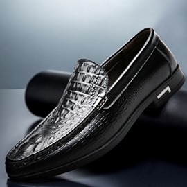 Ericdress Slip-On Low-Cut Upper Plain Round Toe Thin Shoes Men's Oxfords