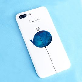 Ericdress Whale Cutie Phone Case