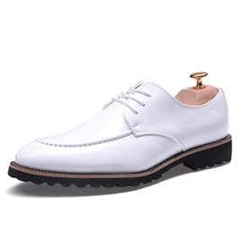 Ericdress Plain Lace-Up Men's Dress Shoes