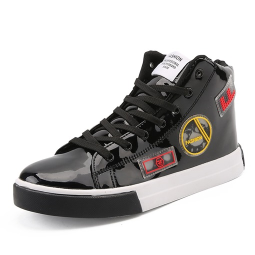 Ericdress PU Lace-Up Men's Skate Shoes