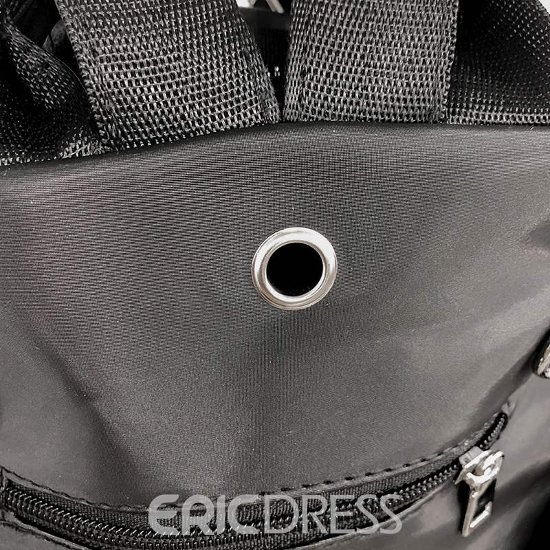 Ericdress Thread PU Zipper Backpacks