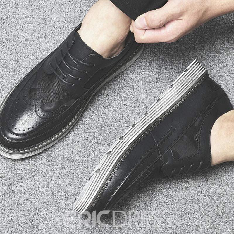 Ericdress Lace-Up Men's Casual Shoes